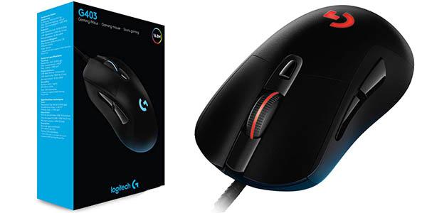 Ratón óptico para gaming Logitech G403 Hero