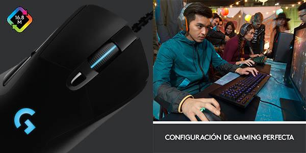 Ratón óptico para gaming Logitech G403 Hero barato