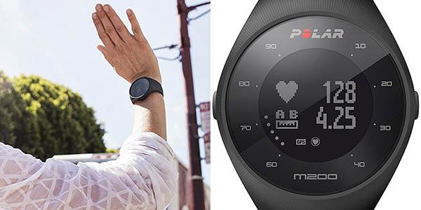 Reloj deportivo Polar M200 con GPS barato