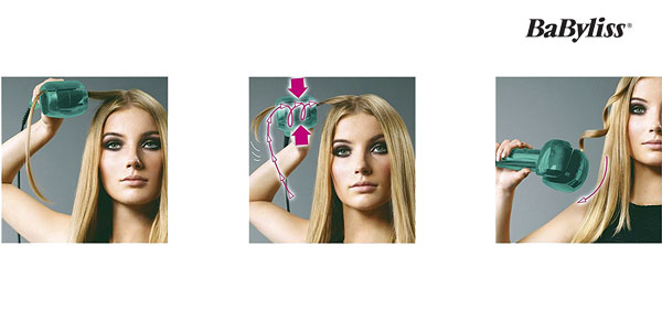 Rizador de pelo BaByliss Fashion Curl C905PE cerámico chollo en Amazon España