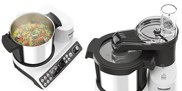 robot de cocina Kenwood kCook Multi CCL401WH con programas preinstalados y gran capacidad