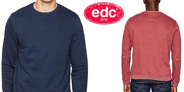 sudadera diseño casual para hombre EDC by Esprit