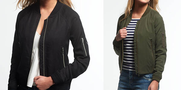Superdry Lillie Bomber chaqueta casual mujer chollo
