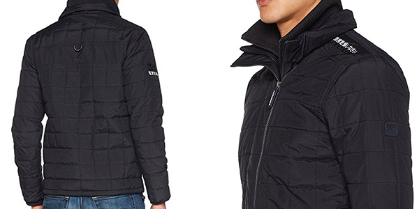 Superdry Quilted Athletic Windcheater cazadora invierno chollo