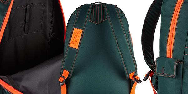 Superdry Silicone Montana mochila casual compacta con compartimentos