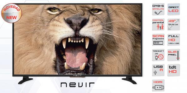 TV LED Nevir NVR-7800-49HDS-N barata