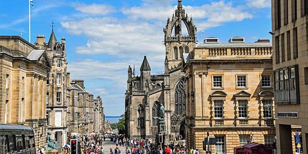 viajar a Escocia capital presupuesto low cost