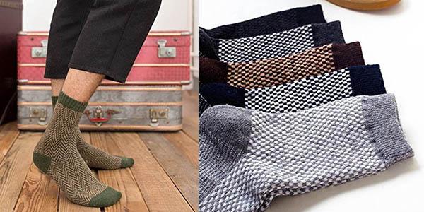 5 pares calcetines lana relación calidad-precio brutal