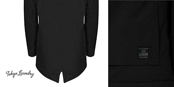 Abrigo Ponsonby Tokyo Laundry para hombre chollazo en Amazon Moda