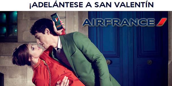 Air France promoción vuelos París San Valentín