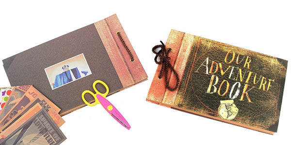 álbum de fotos Our Adventure Book ideal como regalo para viajeros chollo
