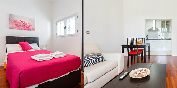 apartamento Mi casa entre comillas Cádiz chollo
