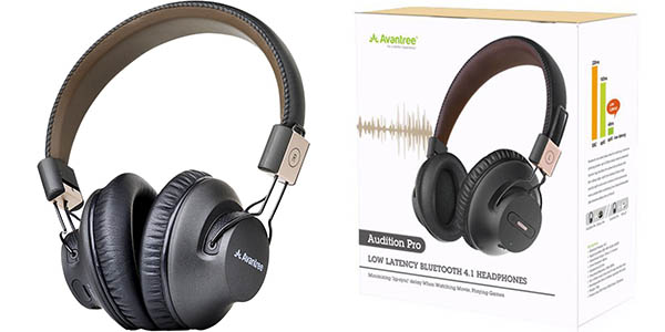 Auriculares Bluetooth Avantree Audition Pro