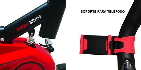 bicicleta estática Maketec regulable intensidad pantalla LCD relación calidad-precio brutal
