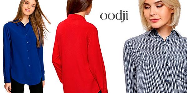 Blusa recta Oodji en varios colores barata en Amazon