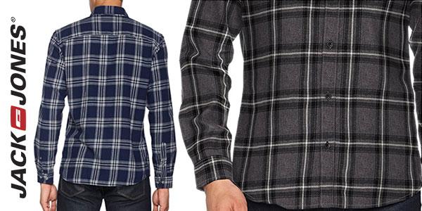 Camisa Jack & Jones Jorlarson de cuadros en 2 colores para hombre