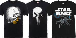 camisetas star wars marvel baratas