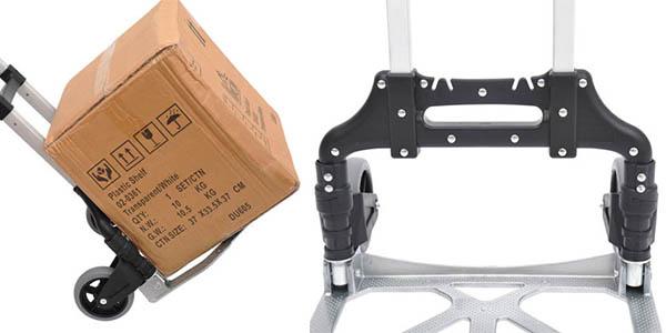 carretilla transportar aluminio plegable ajustable posición