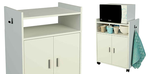 carrito microondas espacio almacenaje extra cocina chollo