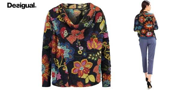 Blusa estampada de punto Desigual Celia chollo en Amazon Moda