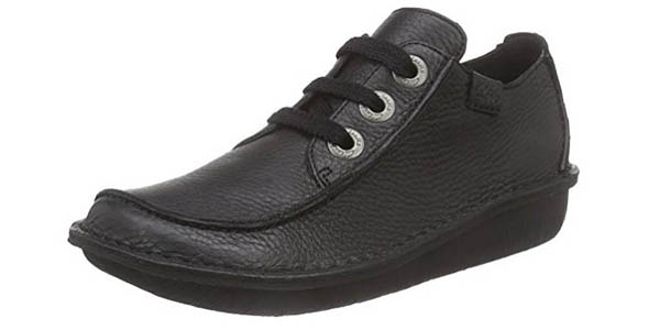 Clarks Funny Dream zapatos cuero acolchados oferta