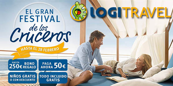 festival cruceros Logitravel enero 2018