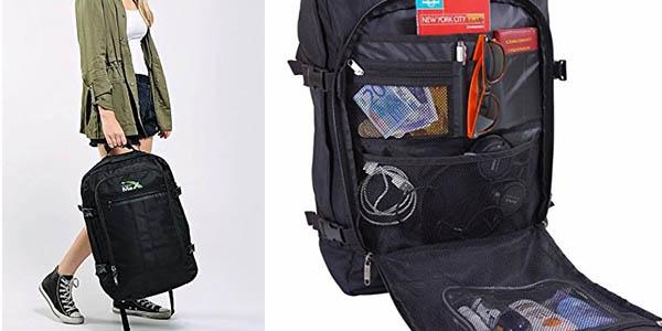 funcional mochila para viajes cortos con compartimentos resistente chollo