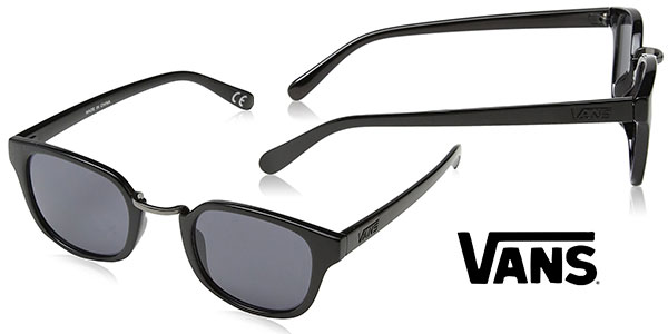 Gafas de sol Vans Apparel Carvey unisex negras baratas