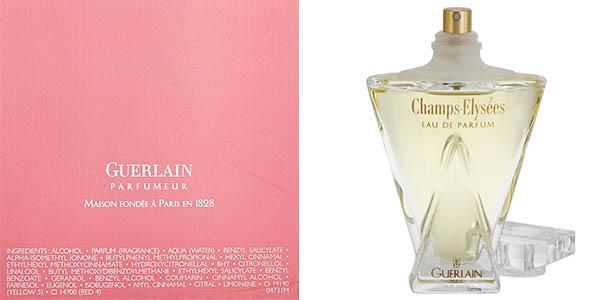 Guerlain Champs Elysees perfume amaderado femenino precio brutal