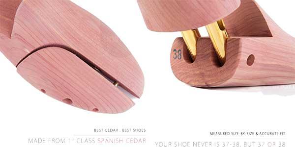 Comprar Horma para zapatos Unihom de madera de cedro chollo en Amazon
