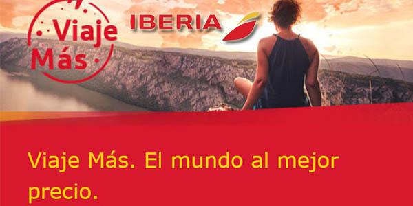 Iberia promoción Viaje más enero 2018