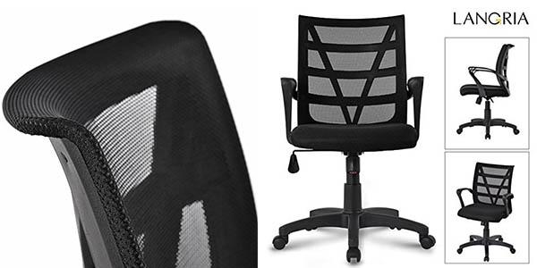 Langria silla escritorio ajustable altura oferta flash Amazon