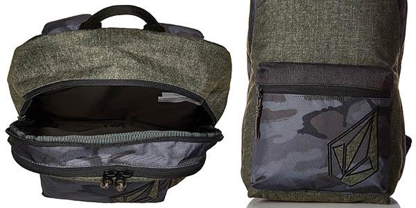 mochila cómoda casual compacta idónea diario Volcom Academy