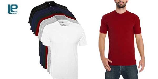 Pack 10 camisetas Lower East para Hombre baratas en Amazon Moda