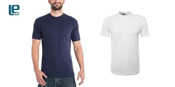 Pack 10 camisetas Lower East para Hombre chollo en Amazon Moda