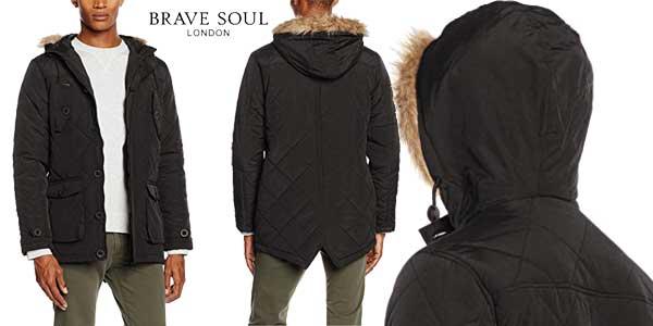 Parka Brave Soul Chetenham en 2 colores para hombre barata en Amazon Moda