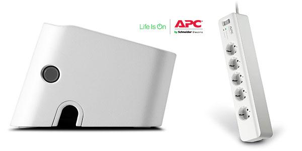 Regleta APC PM5-GR de 5 tomas y protección contra sobretensiones rebajada
