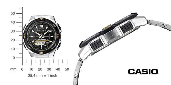 Reloj Casio Collection para Hombre AQ-S800WD-1EVEF chollazo en Amazon Moda