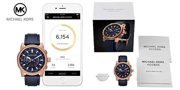 Reloj Michael Kors Grayson Hybrid para Hombre MKT4012 chollazo en Amazon Moda