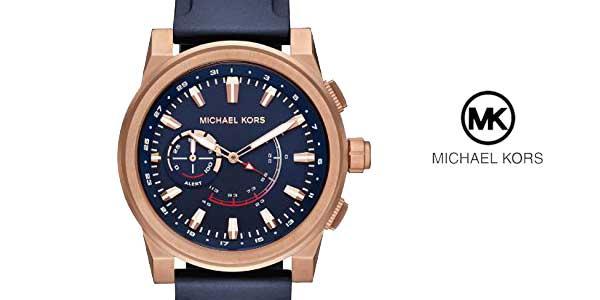Reloj Michael Kors Grayson Hybrid para Hombre MKT4012 barato en Amazon Moda