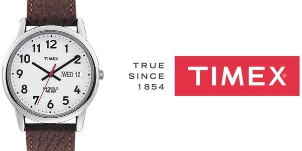 Reloj analógico Timex Easy Reader T200419J para hombre barato en Amazon Moda