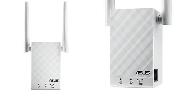 Repetidor Asus RP-AC55 WiFi AC1200 Doble Banda