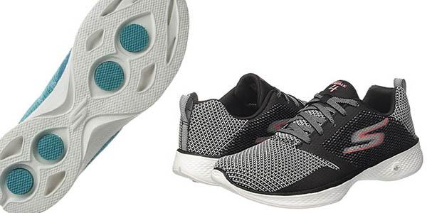 Skechers Go Walk 4 zapatillas transpirables gran amortiguación oferta