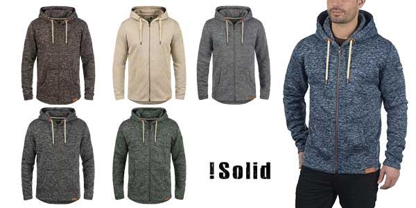 Sudadera Solid Leki tipo chaquetilla con capucha para hombre barata en Amazon Moda