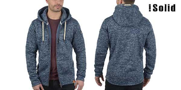Sudadera Solid Leki tipo chaquetilla con capucha para hombre chollo en Amazon Moda