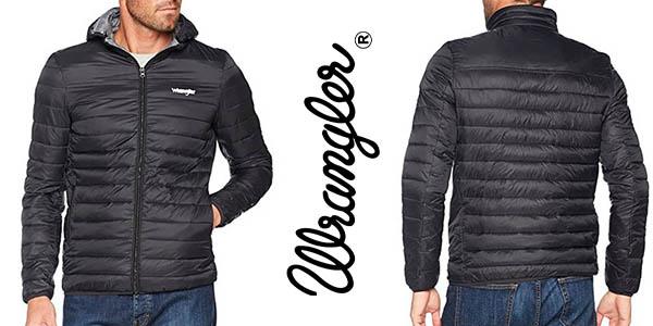 Wrangler Puffer chaqueta acolchada para hombre barata