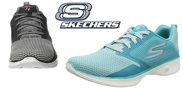 zapatillas Skechers Go Walk 4 para mujer baratas