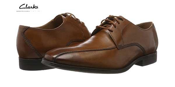 Zapatos de vestir Clarks Gilman Mode Derby para hombre en color marrón baratos en Amazon Moda