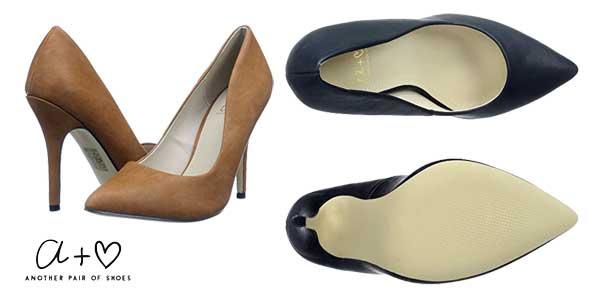 Zapatos de salón Another Pair of Shoes Penelopeee con tacón de aguja para mujer chollo en Amazon