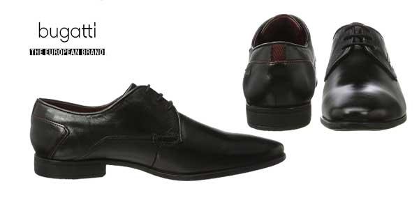 Zapatos de vestir Bugatti 312295011000 para hombre chollo en Amazon Moda